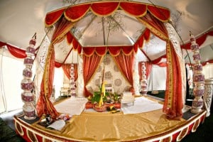 Hindu ceremony wedding tents