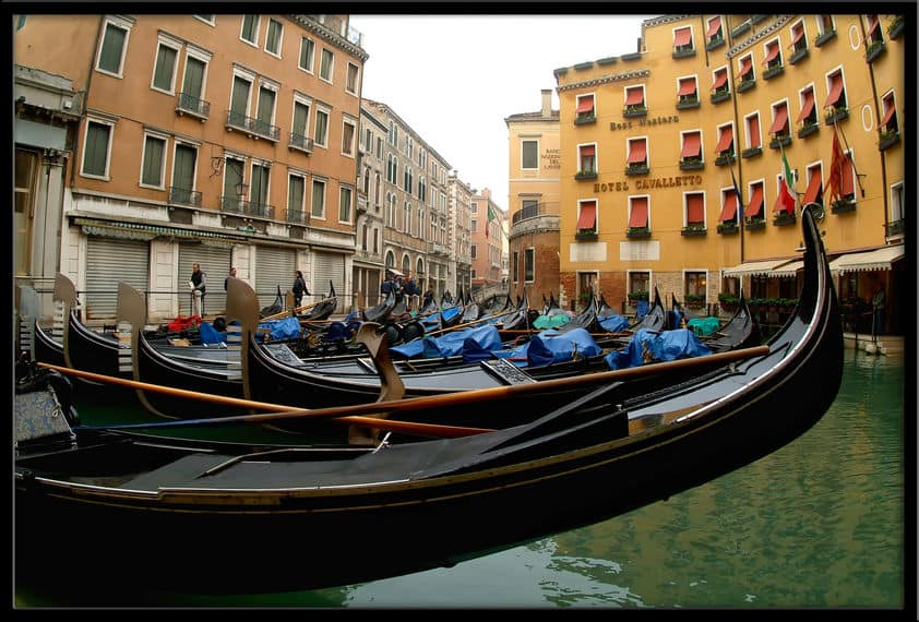 The boat tours of Venice Italy