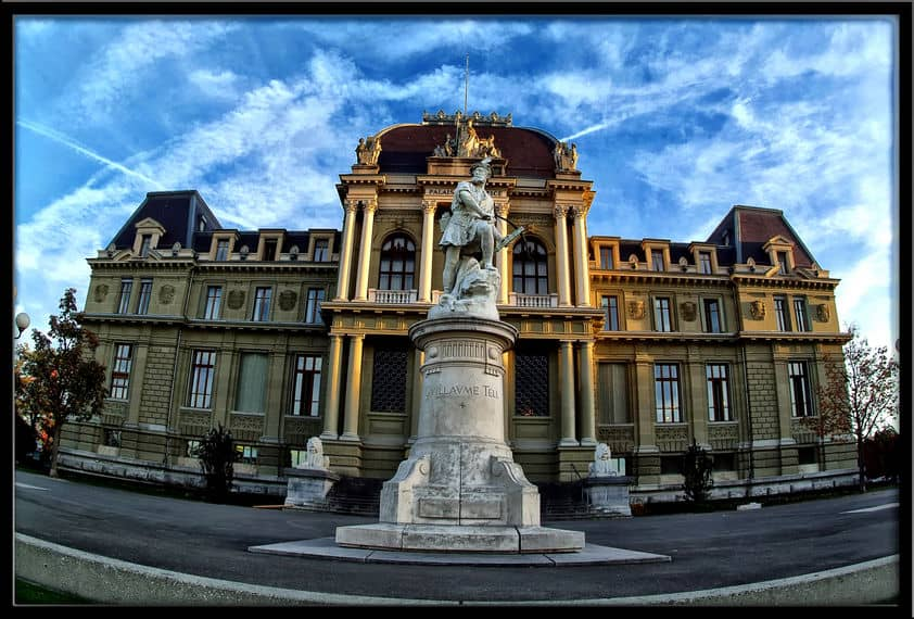 The court house of Switzerland