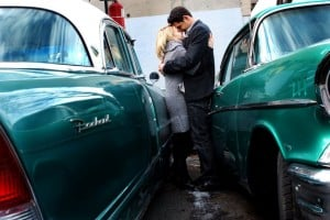 Muscle cars engagement shoot