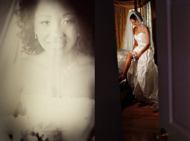 Bridal veil for weddings for the bride