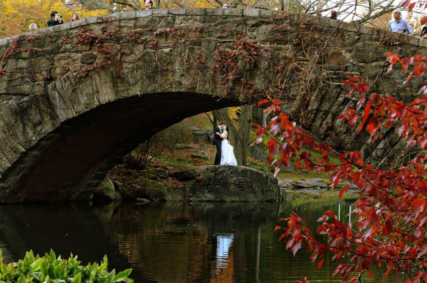 New York City central park wedding spots