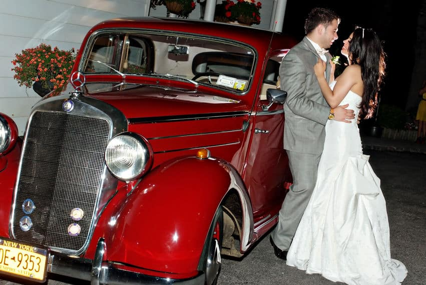Weddings and luxury cars for the bride and groom