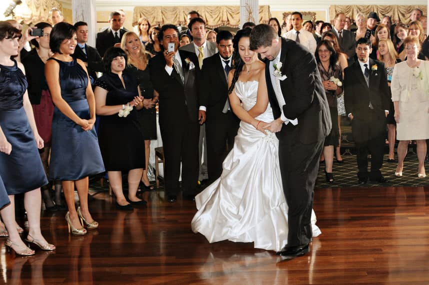 Special occasion and the first dance