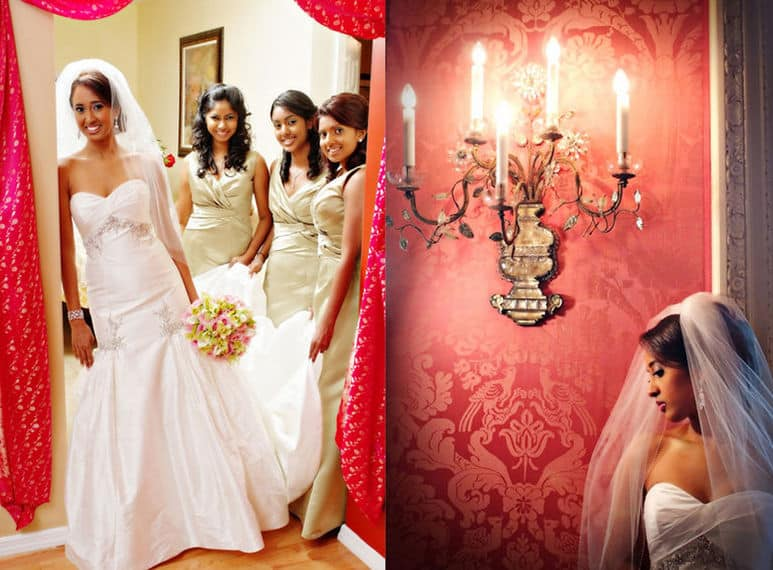 Wedding dresses for the bridesmaids