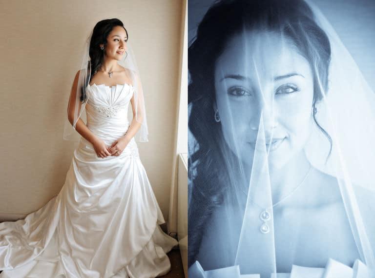 Bridal top portrait photographers