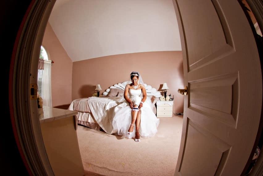 Bridal Garter for the bride