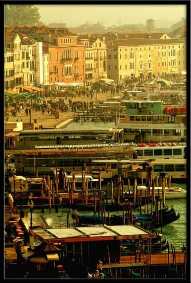 Venice Italy everyday site scenes