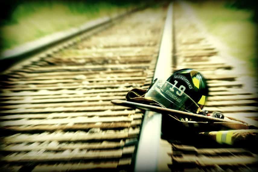 Helmet for firefighters