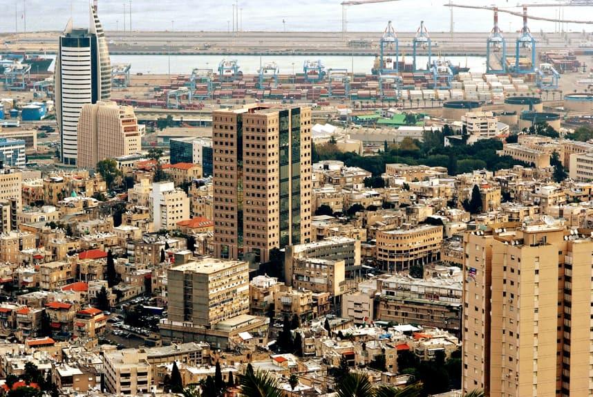 Haifa-Israel-cost-line