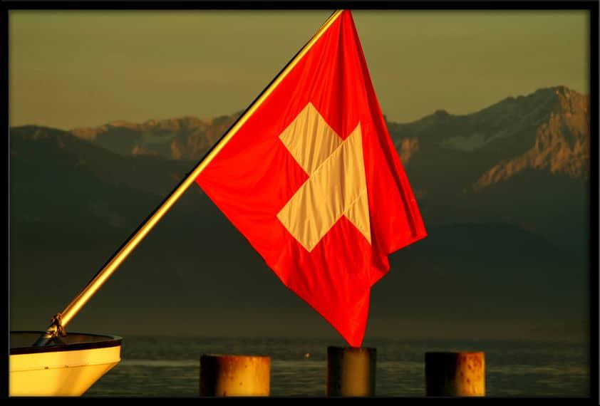 The colors of Switzerland