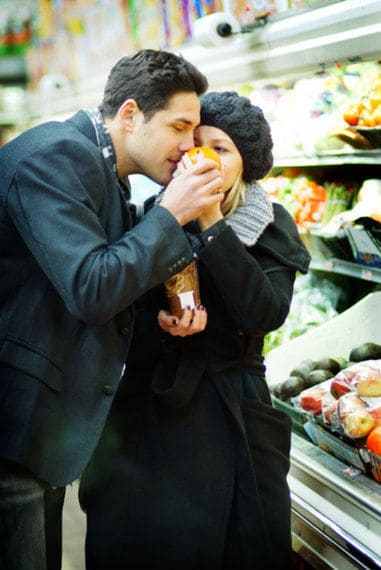 Engagement grocery creative shots