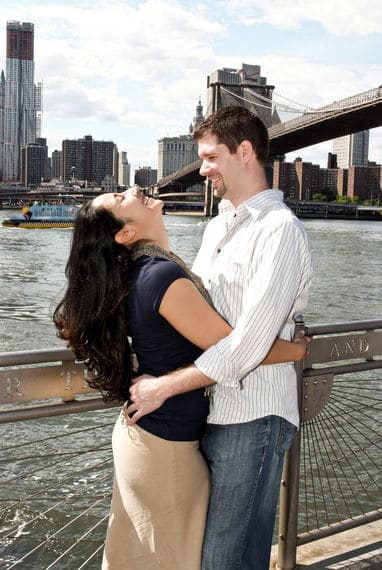 NY Brooklyn engagement shoot