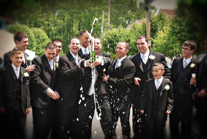 Groomsmen wedding attire