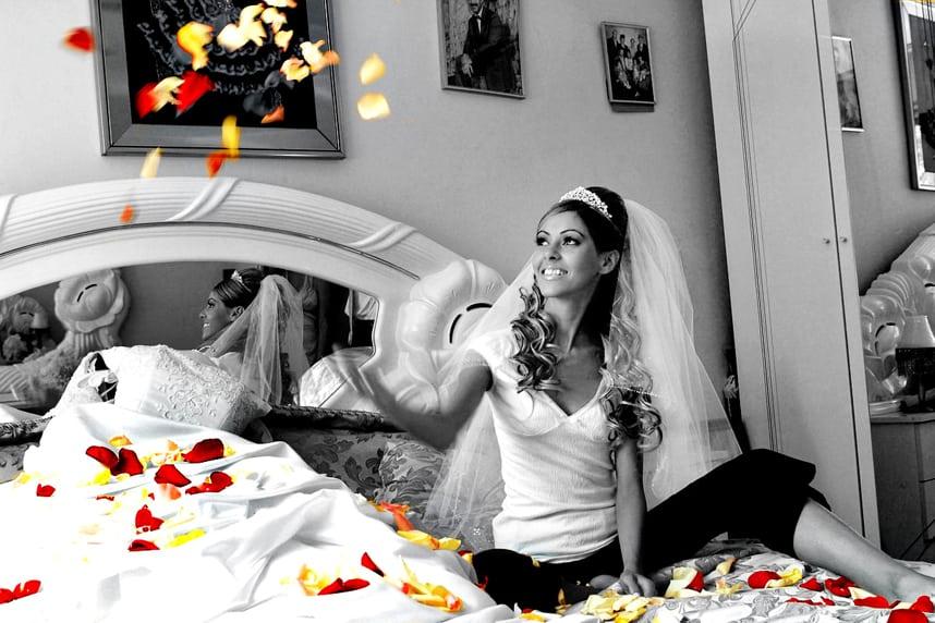 Wedding petals for throwing