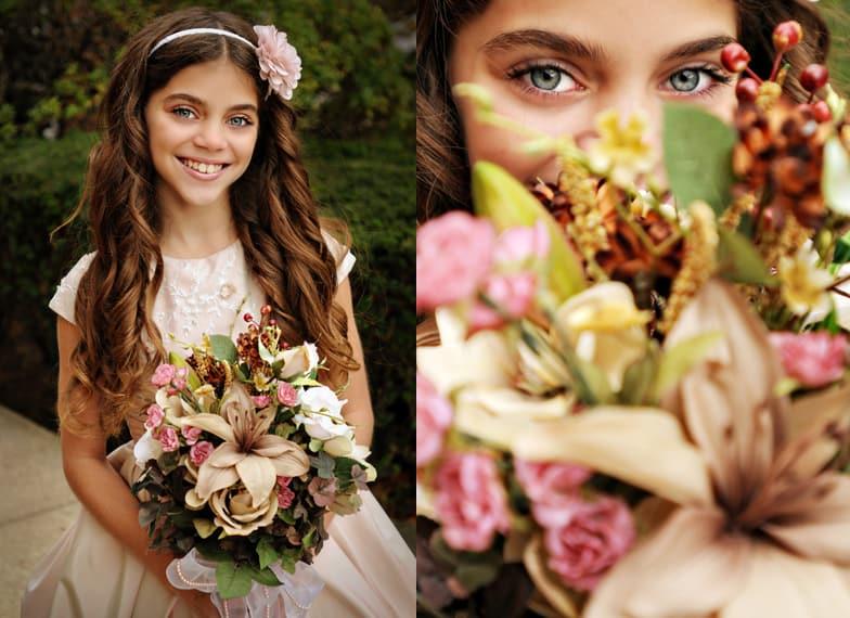 Bouquet for flower girls